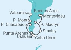 De Buenos Aires a Valparaíso