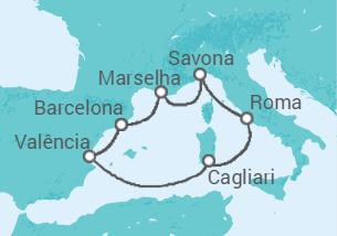 Espanha, Itália, França