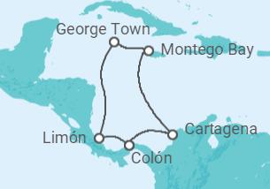 Caribe Lendário - saindo de Colón